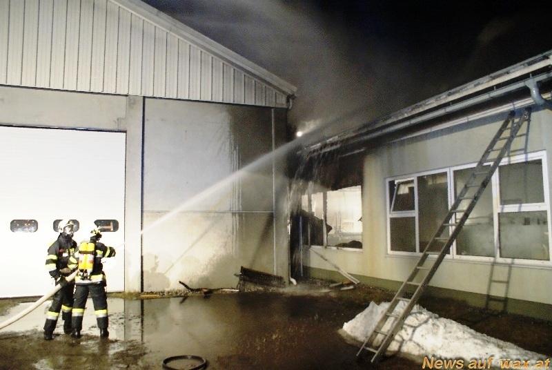 Waxat Das Portal Für Feuerwehr Und Rettungsdienst Großbrand Bei