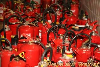 überprüfung von feuerlöschern